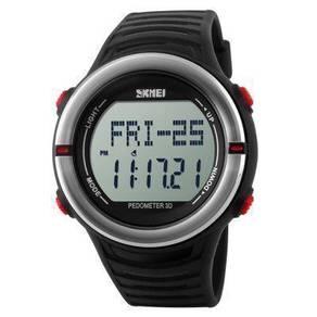 SKMEI 1111 Sport Watch, Heart Rate Monitor, Pedome