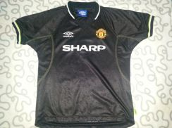 Vintage Manchester United 3rd Jersey Treble 1998 /