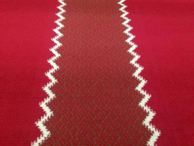 Karpet surau masjid bersaf siap pasang