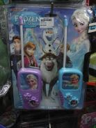 Frozen kids walkie talkie