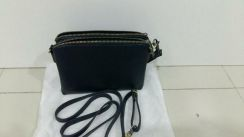 Leather clutch /sling bag