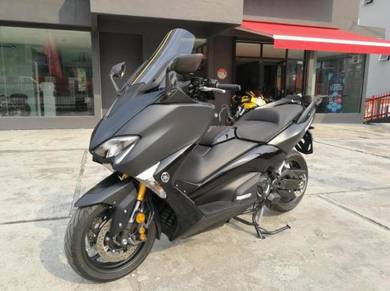 Yamaha tmax 530 dx 2017 unregistered