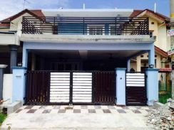 Seksyen 7 bbb fully furnished double storey for rent