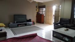 For sale undervalue semi detach house, taman sarmex, 5th mile kuching