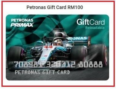 Petronas Gift Card (Credit RM100 inside)