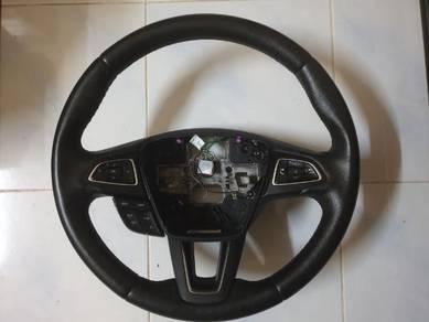 Ford Focus MK3.5 Leather Steering Wheel