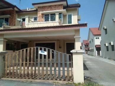 Freehold double story terrace at taman klebang bayu, tasek ipoh