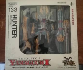 Revoltech 133 Monster Hunter Zinogre Hunter