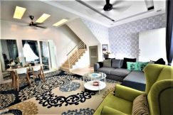 2 Storey Hillpark Puncak Alam [FULLY FURNISHED] BERBALOI SANGAT