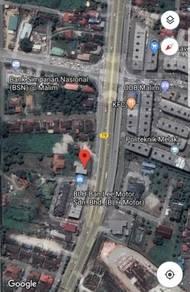 Lot Bangunan di Tepi Jalan Malim Jaya Balai Panjang Town Center