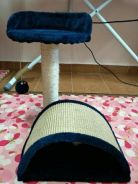 Cat Tree Play Bed Scratcher House Toy