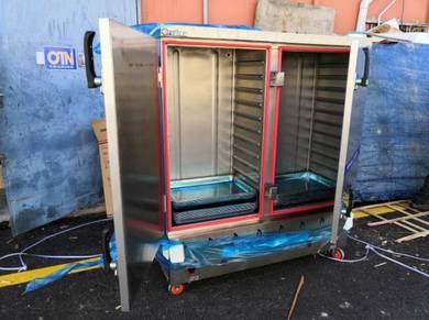 Steamer GAS pot 24 Tray 2 DOOR GAS NEW