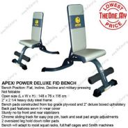 APEX / POWER DELUXE FID BENCH - Self-collection
