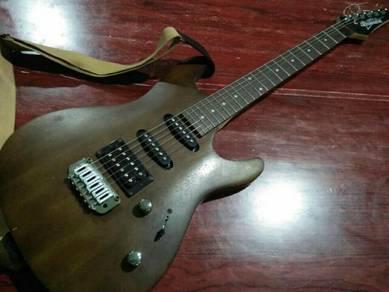 Guitar lead+guitar bass ibanez