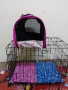 Pet cage and pet carrier bag