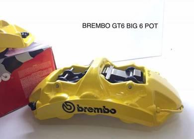 BMW F30 BREMBO GT6 6Pot Caliper