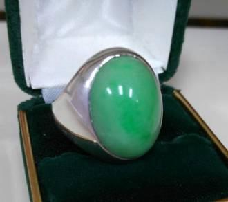 Old Original Jade Ring - Cincin Jed Asli
