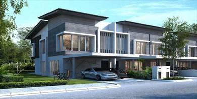 New 20x85 FreeHold 2-Story Garden Terrace House, Bangi