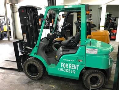 For Rental Rent Untuk Di Sewa Forklift Machinery