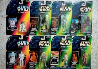 LOT C30A. Star Wars Various 3.75