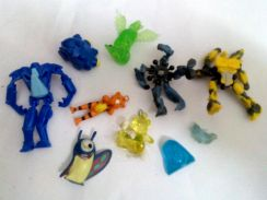 Miniature toy 10pcs lot