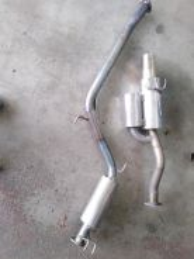 Fd2r js racing titanium original piping
