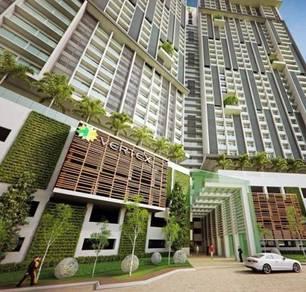 100% Full Loan Cybersquare Studio Cyberjaya Fully Furnished Pool View