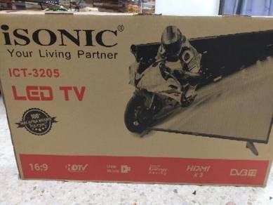Brand new led tv isonic 32