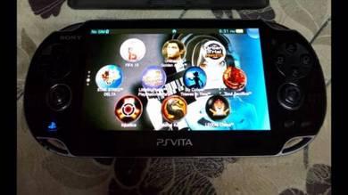 PS Vita Black Edition + Henkaku