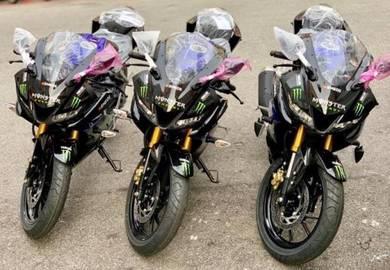 Yamaha R15 Monster (Promosi Raya - Deposit Rendah)