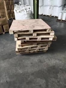 Used wood pallet
