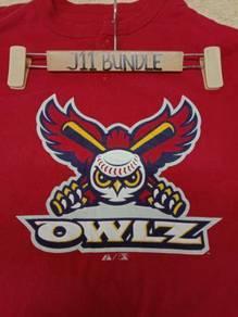 Baseball MLB Majestic Utah Orem Owlz