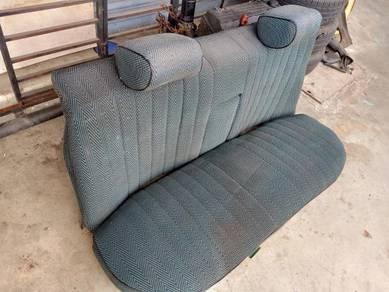 Classic Mercedes W123 Rear Cushion Green