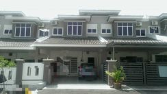 Freehold non bumi lot 2sty 4 bed 4 bathroom di taman lumut indah 1