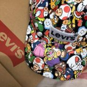 Levi�s X Super Mario Limited Edition Snapback