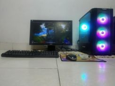 Pc gaming / multitasking intel i3 9100f rx570 8gb