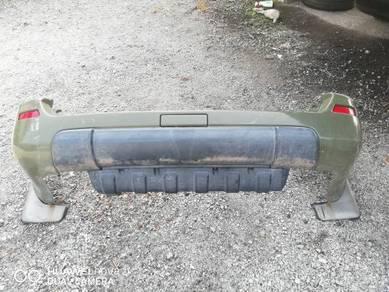 Rear bumper nissan x-trail nt30 t30 v1 04