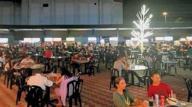 Food court at Old Klang Road main road
