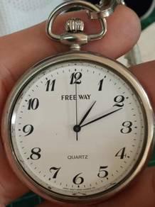 Vintage Citizen Freeway NOS pocket watch