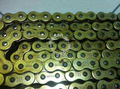 Chain Sprocket Set Rantai Kawasaki Ninja 250 Z250