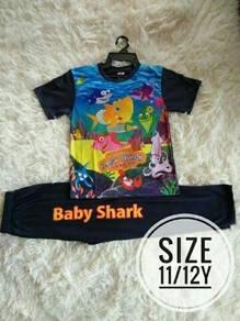 Set baju baby shark
