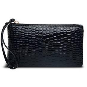B105 Crocodile Fashion Clutch Bag Wallet Phone