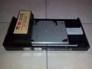 Vintage Credit Card Reader/Scanner