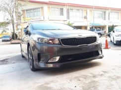 KIA Cerato V2 Bodykit and Kobis Door Visor