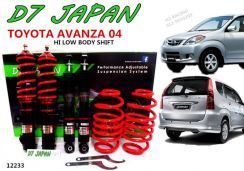 AVANZA 1 D7 JAPAN Hi Low Body Shift Adjustable