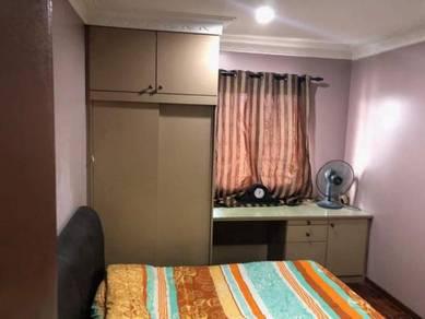Akasia Apartment , 800sf , 3r2b ,F/furnished , Puchong