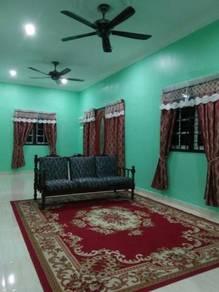 Bilik Sewa Bulanan Perempuan Lengkap Perabot di Kubang Kerian
