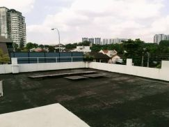 2 rooms for rent at taman united old klang road, roof top