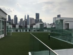 BRUNSFIELD RESIDENCE U-THANT PARTLY FURNISHED EMBASSY Row KLCC VIEW