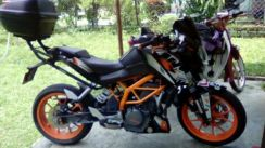 KTM390 ,good condition,start n go